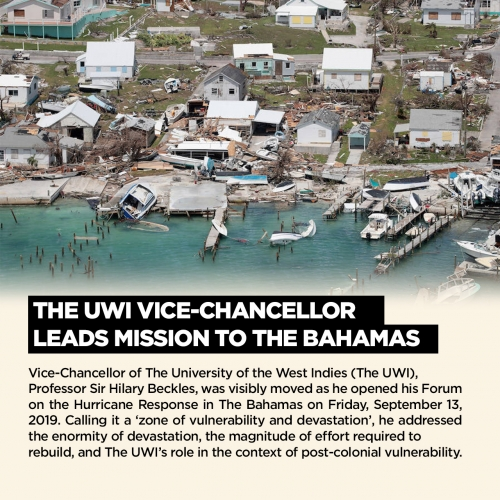 The UWI Vice-Chancellor Leads Mission to The Bahamas