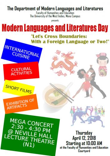 MODERN LANGUAGES AND LITERATURES' DAY 2018