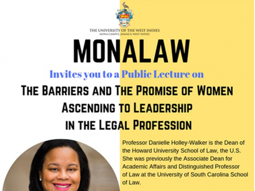 MonaLaw Public Lecture -The Barriers and Promise of Women Ascending to Leadership in the Legal Profession