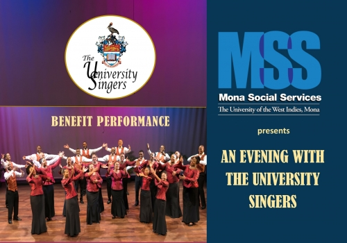 University Singers Benefit Performance hosted by Mona Social Services