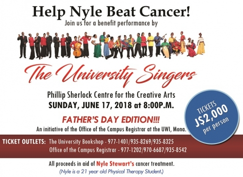 Nyle Benefit Concert Poster-June 17, 2018