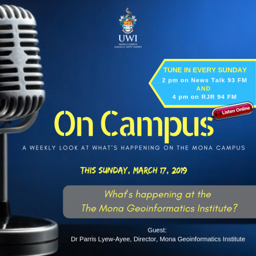 On Campus - Whats happening at the MGI