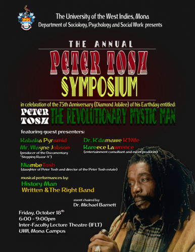 Peter Tosh Symposium 2019