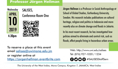 Prof. Jörgen Hellman -Living With Floods & Coping With Vulnerability: Methodological Relativism and its Potentials