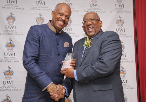 Sir Hilary Beckles honoured for 40 years of service
