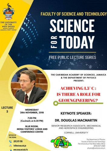 PUBLIC LECTURE: SCIENCE FOR TODAY