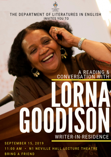 Reading AND Conversation with Lorna Goodison