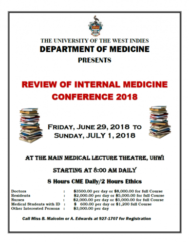 Review of Internal Medicine Conference 2018