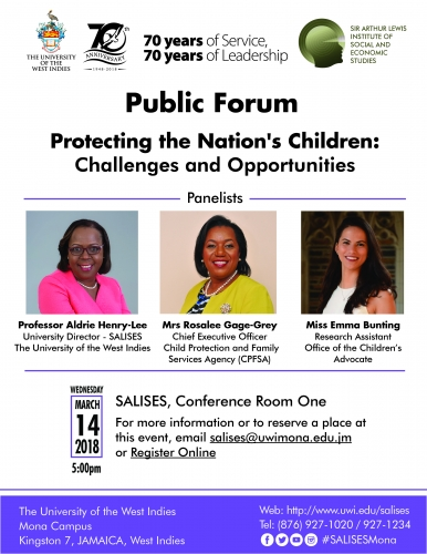 SALISES Public Forum - Protecting the Nation's Children