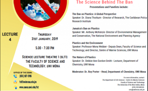 Science For Today Free Public Forum - Plastics