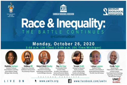SAVE THE DATE | Race & Inequality e-conversation