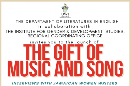 Book Launch Jacqueline Bishop's The Gift of Music and Song