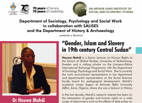 GENDER, ISLAM AND SLAVERY IN THE 19TH CENTURY CENTRAL SUDAN