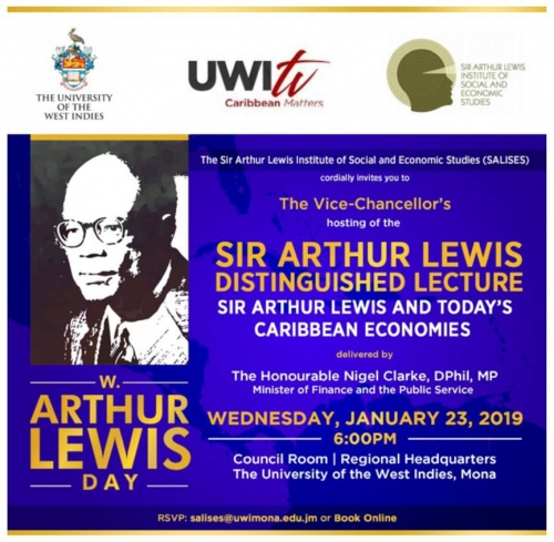 Sir Arthur Lewis Distinguished Lecture 2019