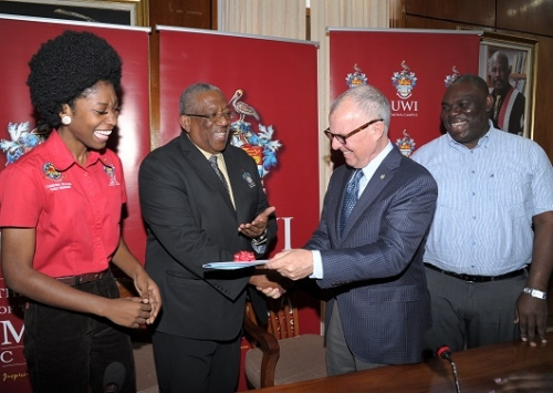 UWI Chancellor Matches OM's Donation to the Mona Campus