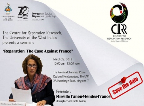 The Centre for Reparation Research Seminar Reparation The Case Against France