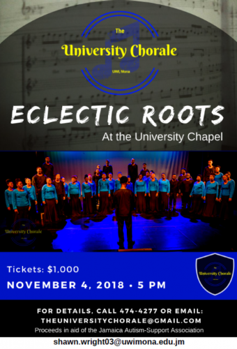 The University Chorale: ECLECTIC ROOTS