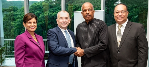 The UWI Coventry Institute for Industry-Academic Partnership Launched