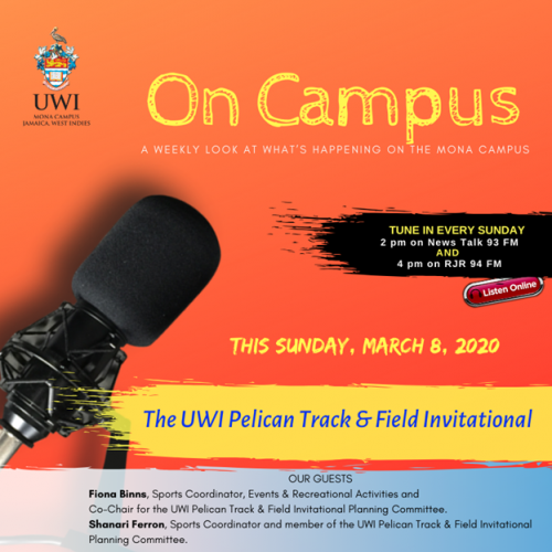 The UWI Pelican Track and Field Invitational!
