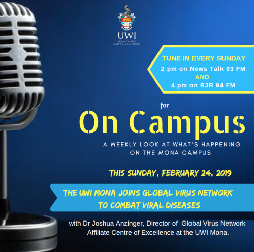 Tune in to On Campus this Sunday February 24, 2019!