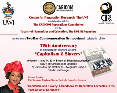 Two-Day Commemoration Symposium on Capitalism & Slavery