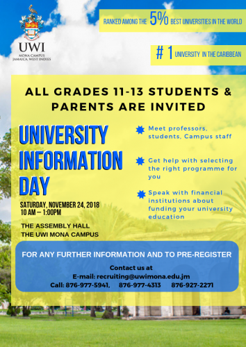 The UWI Information Day 2018
