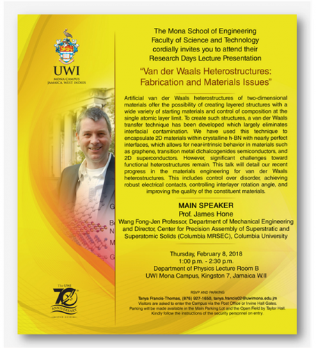 URD 2018 Invitation to MSE Public Lecture and Workshop