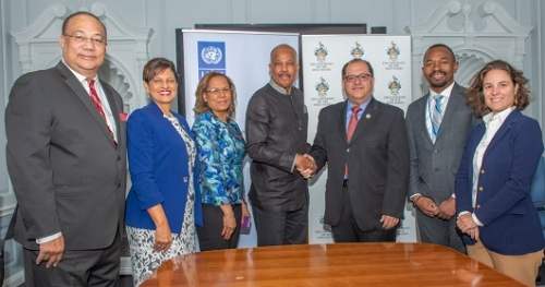 The UWI and UNDP join forces to promote  Blue Economy in the Caribbean