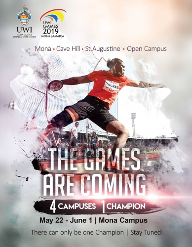 UWI Games 2019 Comes To Mona!