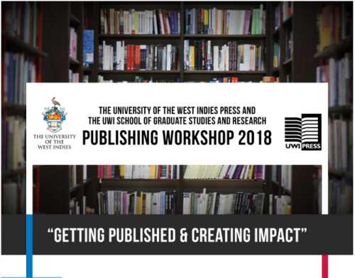 UWI Press Publishing Workshop 2018