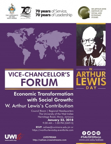 UWI VICE-CHANVELLOR'S FORUM | W. Arthur Lewis Day
