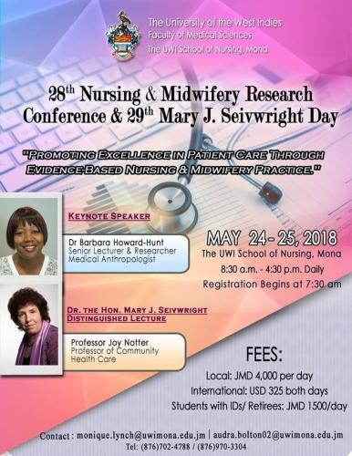 UWISON 28th Nursing & Midwifery Research Conference & 29th Mary J. Seivwright Day
