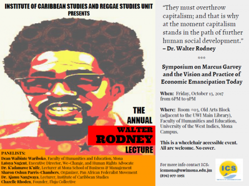 Walter Rodney Annual Lecture