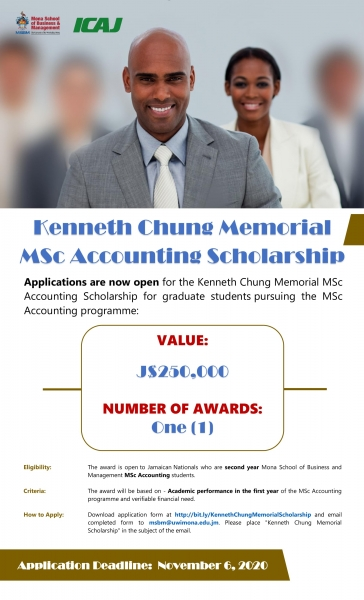 Kenneth Chung Memorial Scholarship