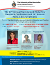 28th ANNUAL NURSING RESEARCH CONFERENCE
