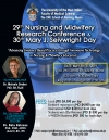 29th Nursing and Midwifery Research Conference & 30th Mary J. Seivwright Day
