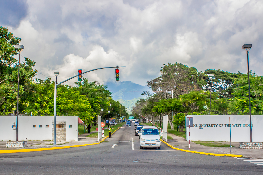 Image result for the university of west indies entrance. University of Glasgow officially signs historic $24m slavery reparation deal with University of the West Indies