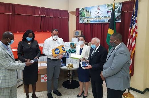 The UWI secures 2000 COVID-19 Test Kits and High-tech Testing Machines for Jamaica