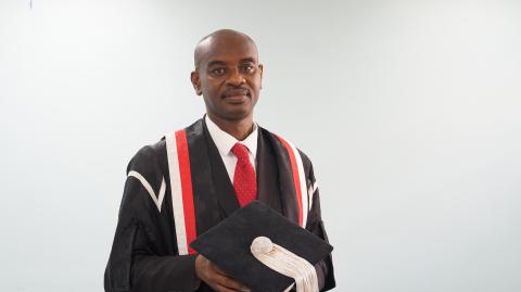 Professor C. Justin Robinson