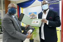 Professor Dale Webber and Dr Conrad Douglas