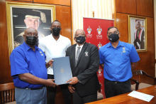 The UWI Mona and Racers Track Club sign MOU to continue to support the development of Caribbean athletics