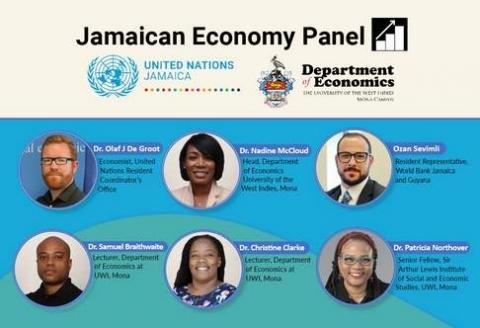 Jamaican Economy Panel Flyer